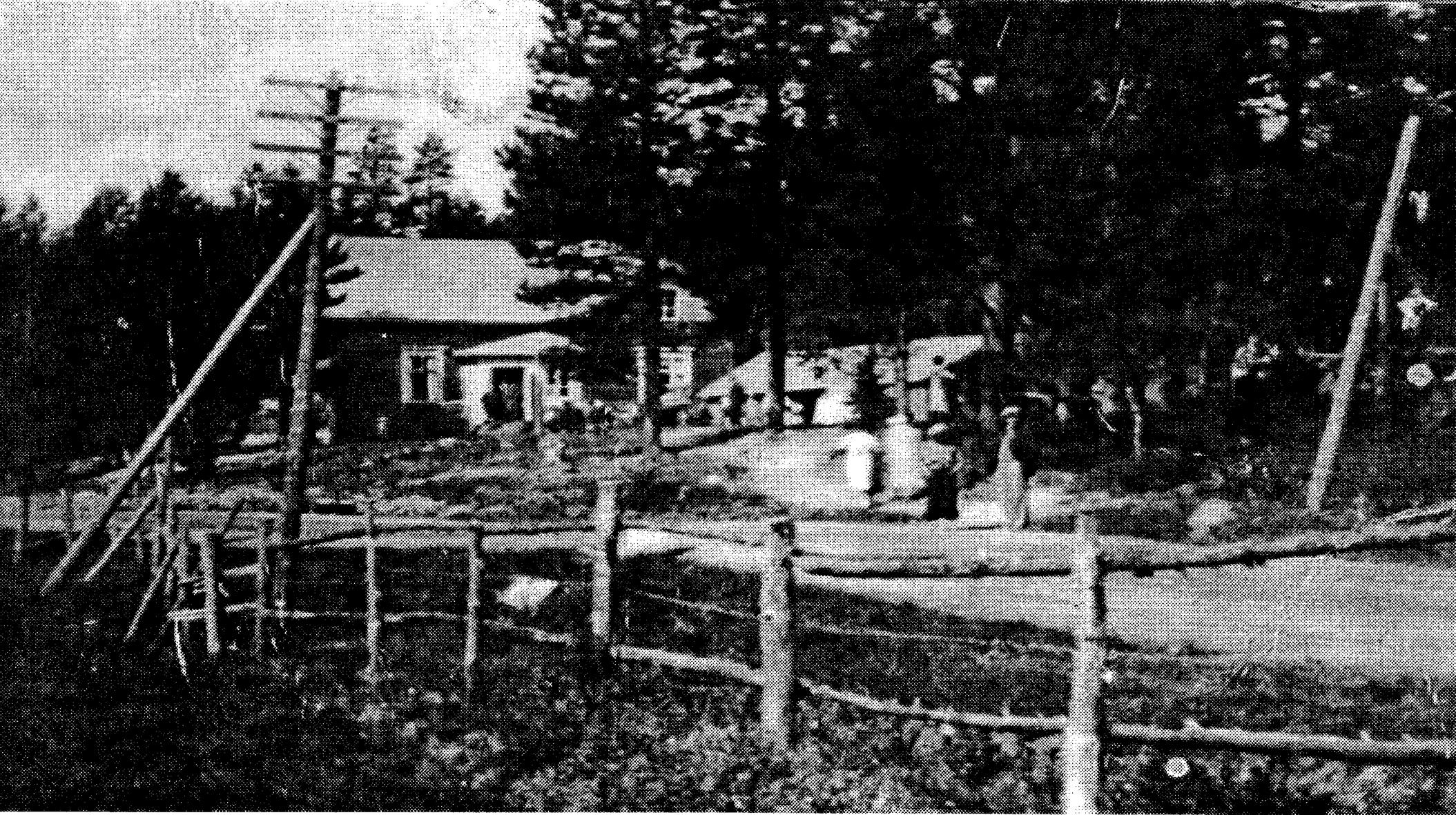 Viirinkylän Rauhanyhdistyksen toimitalon kuva